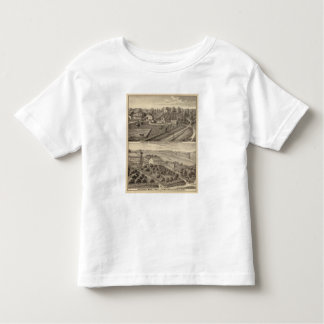 Dairy farms of RS Houston and WC White Toddler T-shirt