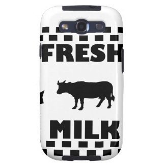 Dairy fresh cow milk samsung galaxy s3 covers
