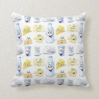 Dairy Friends Throw Pillow