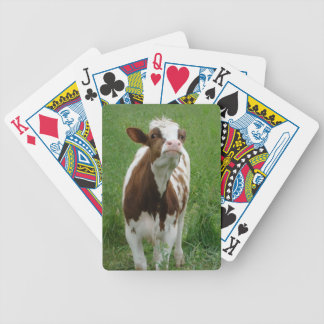 Dairy Milk Cow on the Farm Bicycle Playing Cards