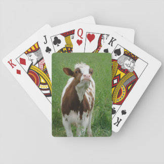 Dairy Milk Cow on the Farm Playing Cards