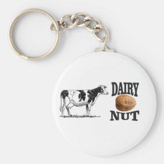 dairy nut keychain