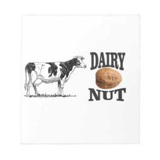 dairy nut notepad