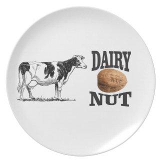 dairy nut plate