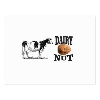 dairy nut postcard
