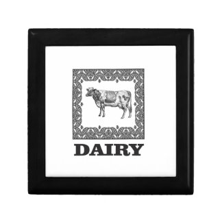 Dairy prize gift box