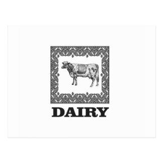 Dairy prize postcard