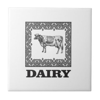Dairy prize tile