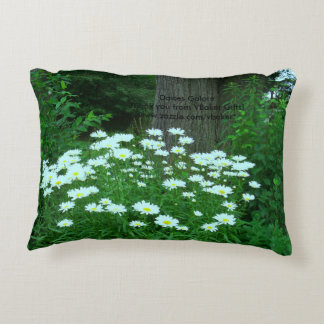 Daises Galore Throw Pillow