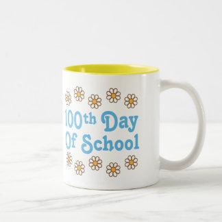 Daisies 100th Day Of School Teacher Gift Mugs