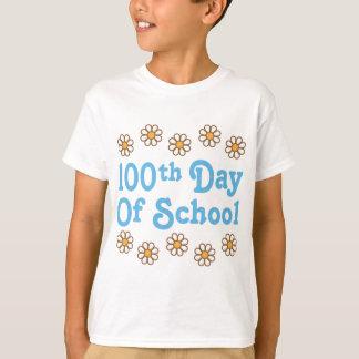 Daisies 100th Day Of School Teacher Gift T-Shirt