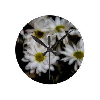 Daisies 1 clock