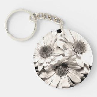 Daisies Acrylic Keychain