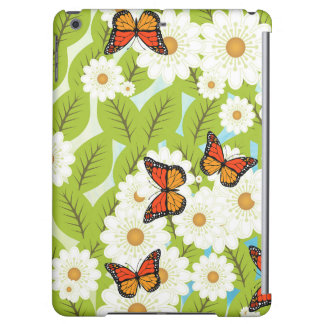 Daisies and butterflies iPad air cover