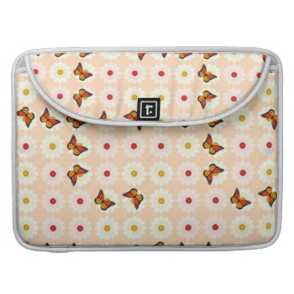 Daisies and butterflies MacBook pro sleeves