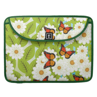 Daisies and butterflies sleeve for MacBook pro