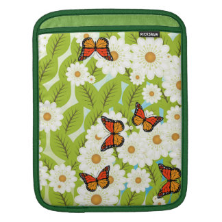 Daisies and butterflies sleeves for iPads