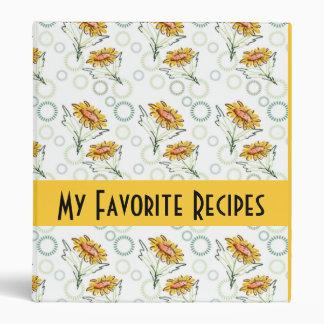 Daisies And Circles Recipes Binder