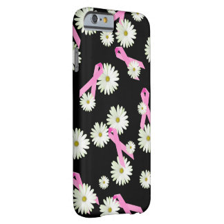 Daisies and Pink Ribbons Barely There iPhone 6 Case