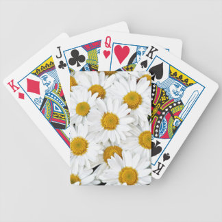 Daisies Bicycle Playing Cards
