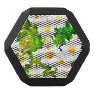 Daisies Black Bluetooth Speaker