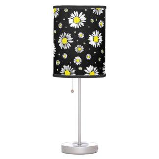 Daisies - Black Lamp
