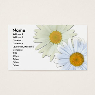 Daisies Business Card