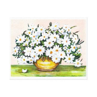 Daisies, Daisies, Daisies Canvas Print