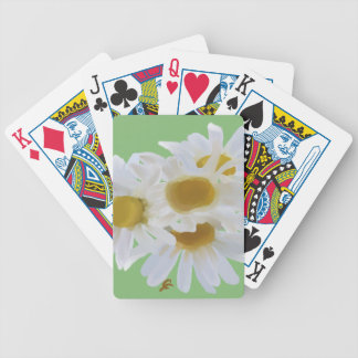 Daisies Digitally Painted Playing Cards