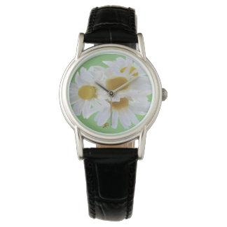 Daisies Digitally Painted Women's Watch