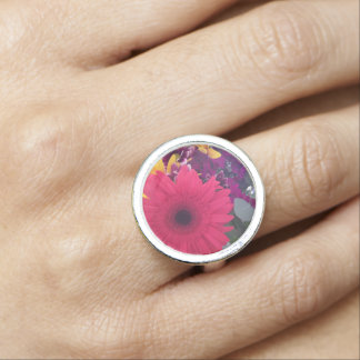Daisies Flowers Beauty Ring