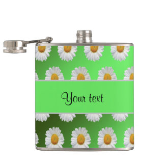 Daisies Hip Flask