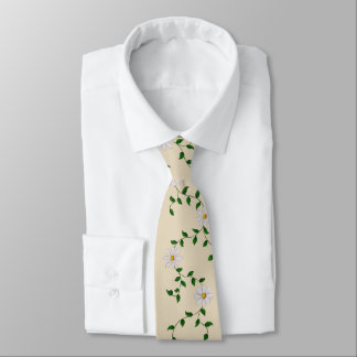 Daisies in a Row Tie
