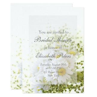Daisies in Love- Editable Bouquet Bridal Shower Card