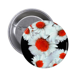 Daisies in red... pin