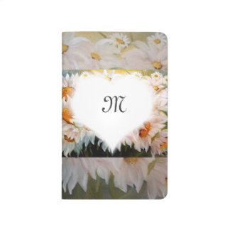 daisies monogram journals