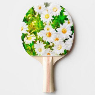 Daisies Ping Pong Paddle