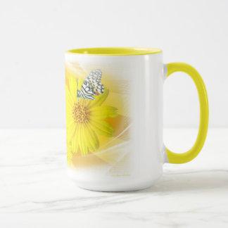 Daisies Refelcted Mug
