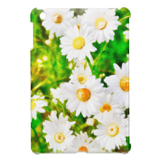 Daisies Watercolor Cover For The iPad Mini