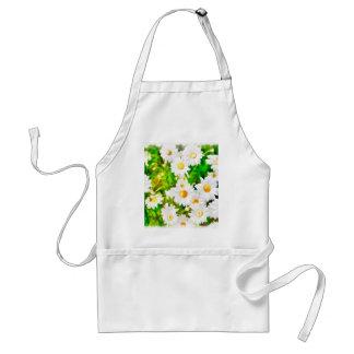Daisies Watercolor Standard Apron