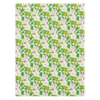 Daisies Watercolor Tablecloth