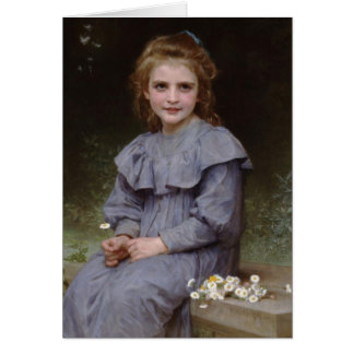 Daisies - William-Adolphe Bouguereau Card