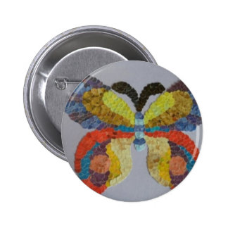 Daisy 2 Inch Round Button