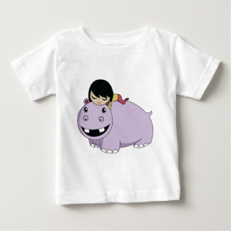 Daisy and Cookie the Hippo Baby T-Shirt