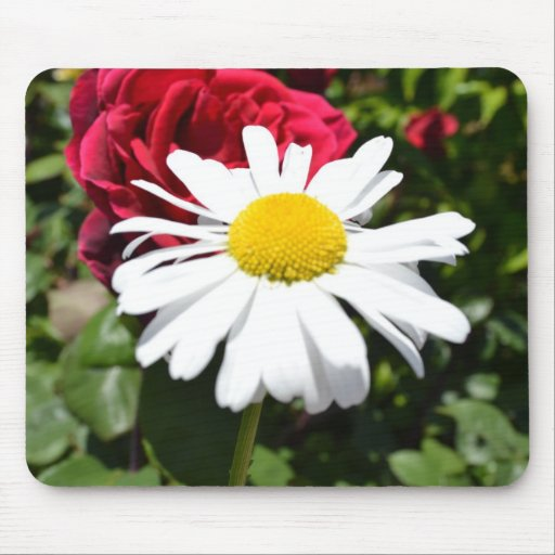 Daisy and Rose Mousepad
