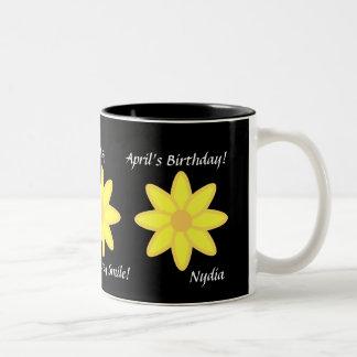 Daisy April's Mug-Customize Two-Tone Coffee Mug