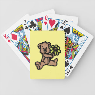 Daisy Bear Design Bicycle Playing Cards