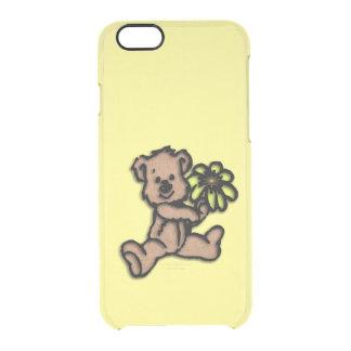 Daisy Bear Design Clear iPhone 6/6S Case