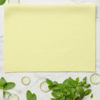 Daisy Bear Design Yellow Kitchen Towel