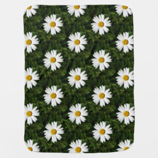 Daisy Bloom seamless pattern + your ideas Swaddle Blankets